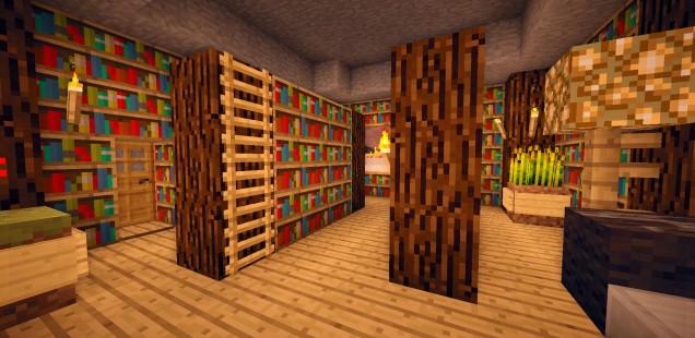 Bücherregale beschreiben